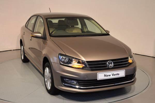 2015 Volkswagen Vento facelift.