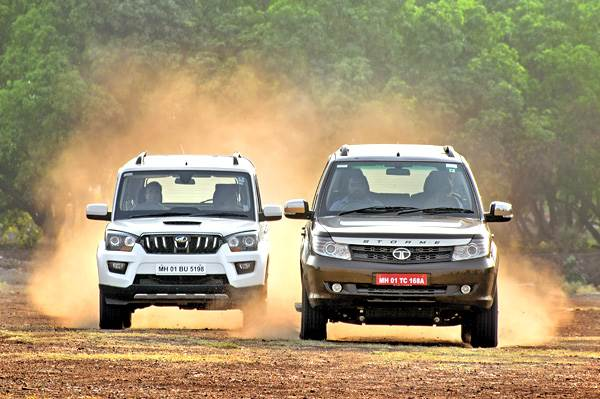 Tata Safari 2018 >> Tata Safari Storme facelift vs Mahindra Scorpio comparison - Autocar India