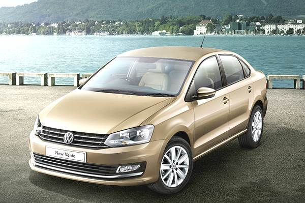Diesel automatic version driving VW Vento sales
