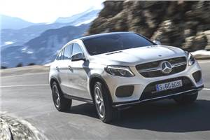 Mercedes Benz GLE350d coupe review, test drive