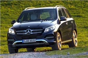 Mercedes-Benz GLE review, test drive