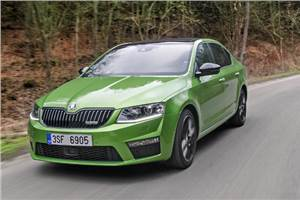 New Skoda Octavia RS review, test drive