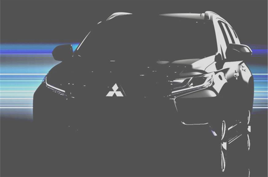 New Pajero Sport official teaser image.