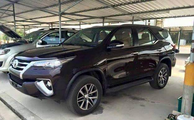 New 2016 Toyota Fortuner leaked inside out