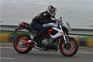 Benelli TNT R review, test ride