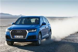 New Audi Q7 review, test drive