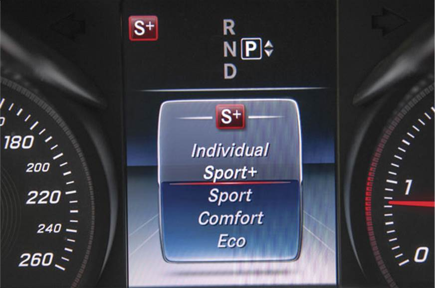 7-speed auto in Sport+ mode  feels alert, is quick-shifti...
