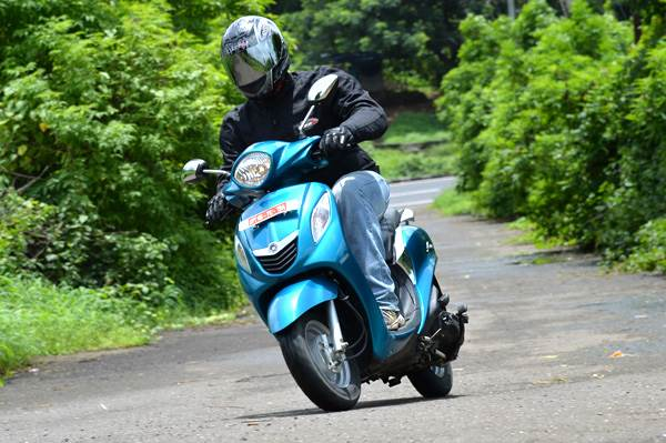 Yamaha Fascino review, test ride
