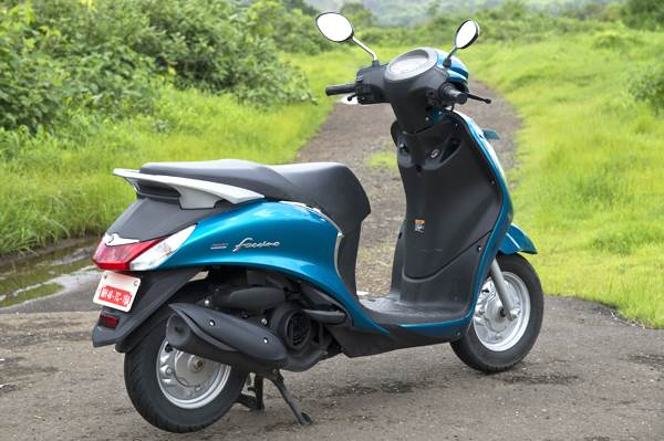 Yamaha Fascino Review Test Ride Autocar India