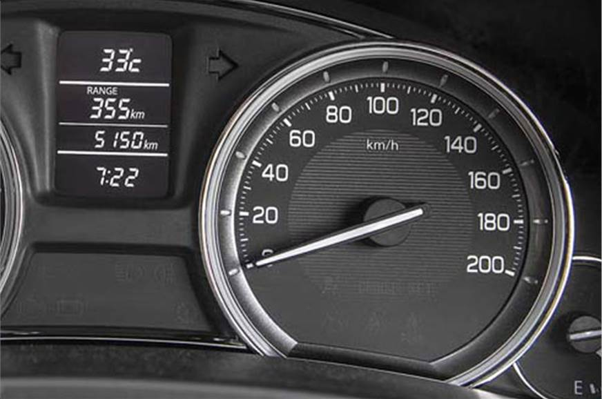 Dials look a bit too plain and boring for a car in this c...