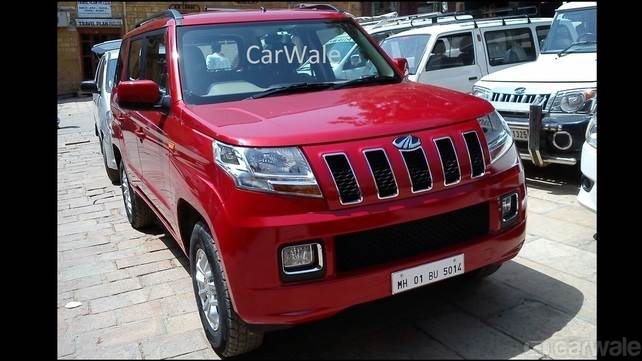 Mahindra TUV300 ready for launch
