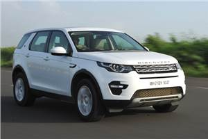 Land Rover Discovery Sport India review, test drive