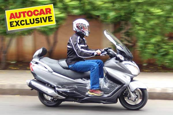 Suzuki Burgman 650 Executive, review, test ride