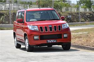 Mahindra TUV300 review, test drive