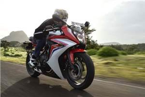 Honda CBR650F review, test ride