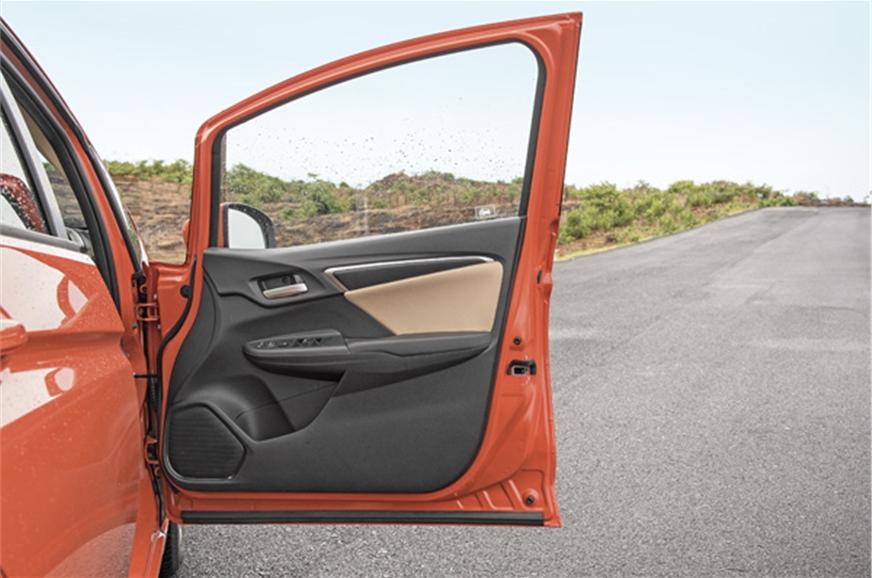 Large, wide-opening doors make ingress and egress easy.
