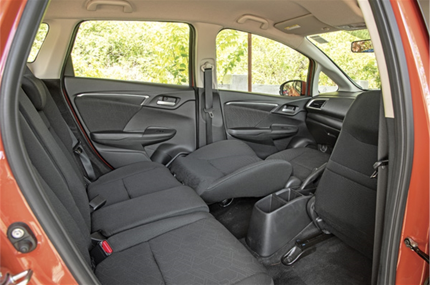 Rear seats lack enough thigh support. It can also form a ...