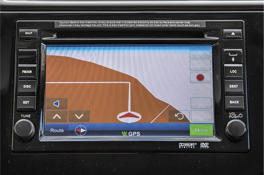 Top-end trim gets 6.2-inch touchscreen infotainment system.