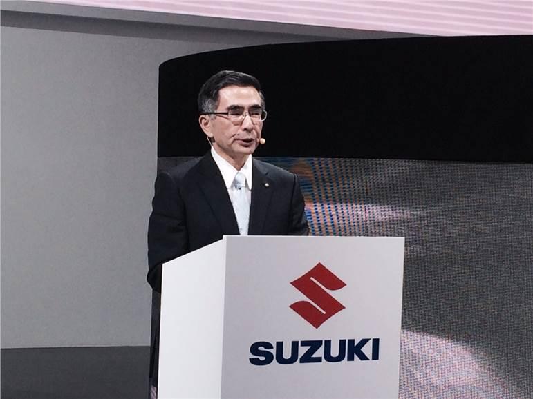 T Suzuki, President and COO of Suzuki Motor.
