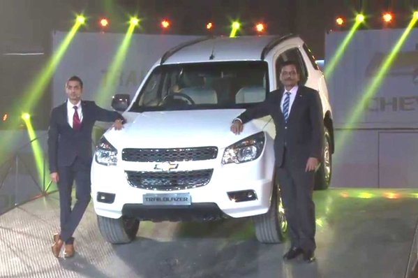 Chevrolet Trailblazer launched at Rs 26.4 lakh - Autocar India
