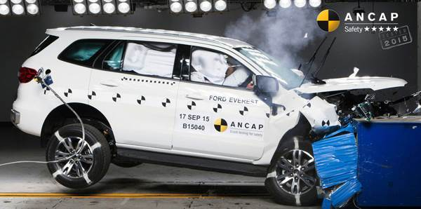 New Ford Endeavour gets top ANCAP crash test ratings ...