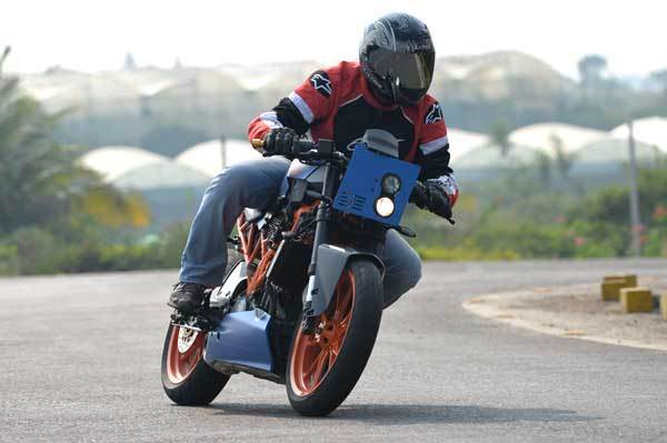 KTM RC 390 Café Racer - Marla review, test ride