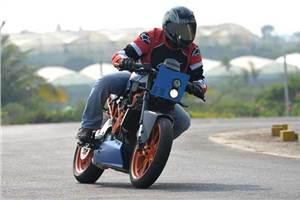 KTM RC 390 Café Racer - Marla review, test ride