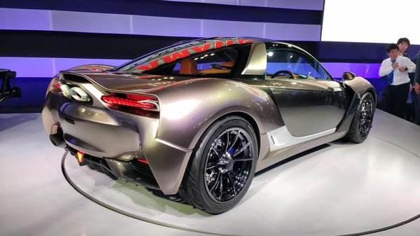 Yamaha sportscar concept revealed at Tokyo motor show ...