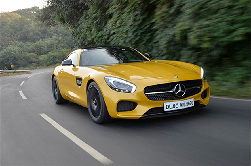 The Mercedes-AMG GT S is the company's new flagship sport...