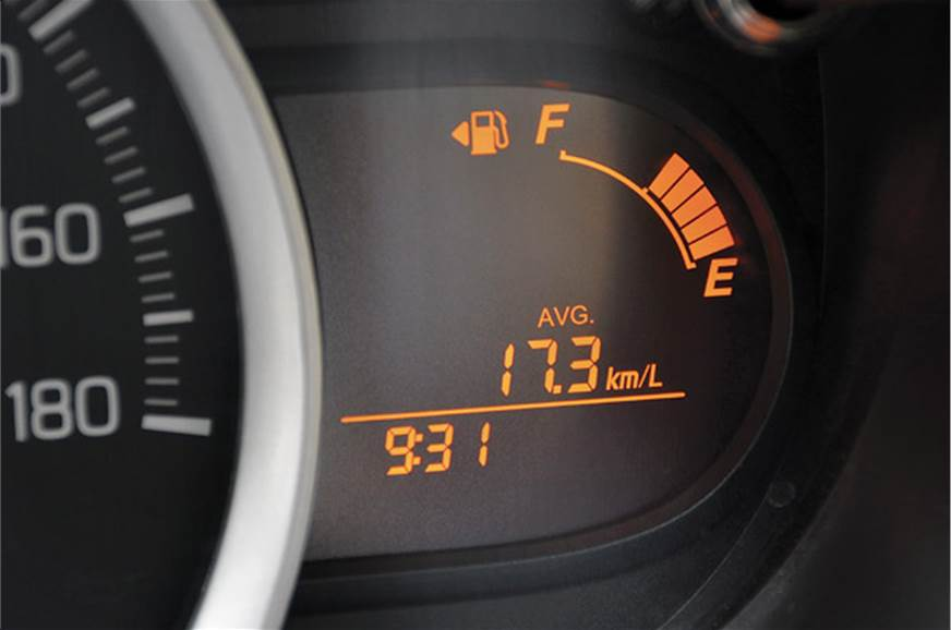 Fuel economy: Drive carefully and it can be very easy on ...