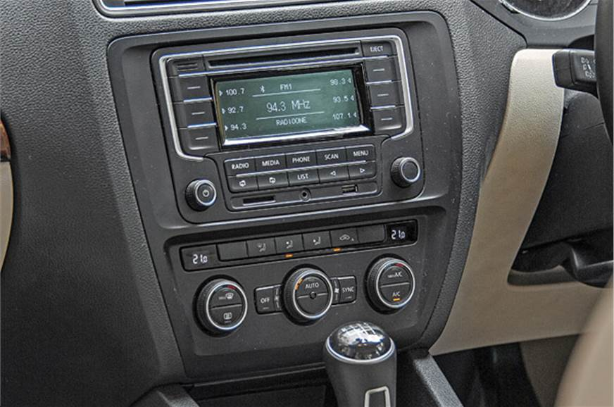 Audio system looks old fashioned and functionality is lim...