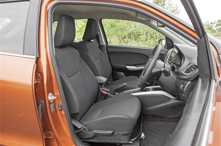 Seats are comfortable with adjustable height to find the ...