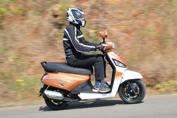 Mahindra Gusto 125 review, test ride