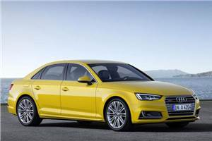 New Audi A4 showcased at Auto Expo 2016
