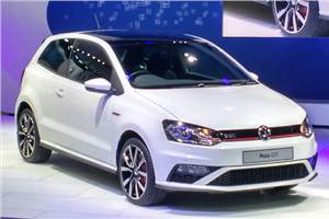 Volkswagen Polo GTI unveiled at Auto Expo 2016