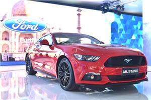 Ford Mustang GT showcased at Auto Expo 2016