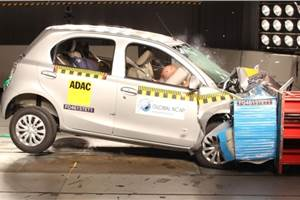 Toyota Etios receives Global NCAP 4-star rating