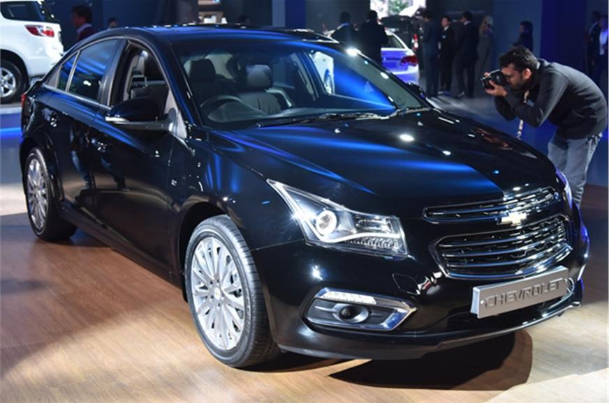 Chevrolet Cruze, Colorado, Spin, Camaro showcased at Auto ...