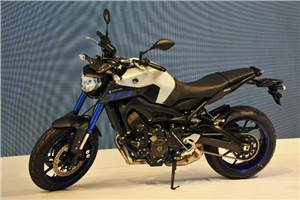Yamaha MT-09 launched at Auto Expo 2016