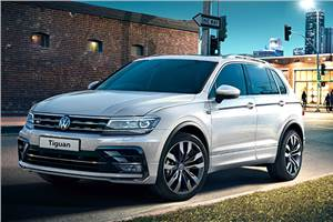 India-bound VW Tiguan SUV to get a seven seat, coupe bodystyle