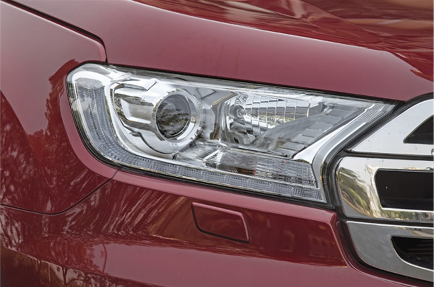 Projector headlamps offer decent illumination. LED DRLs l...