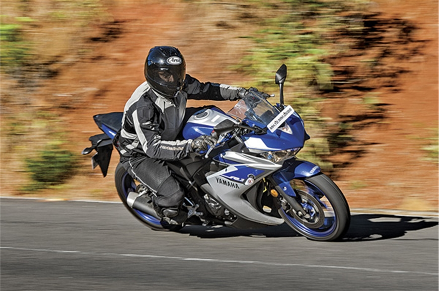 The sporty and nimble riding character of the bike makes ...