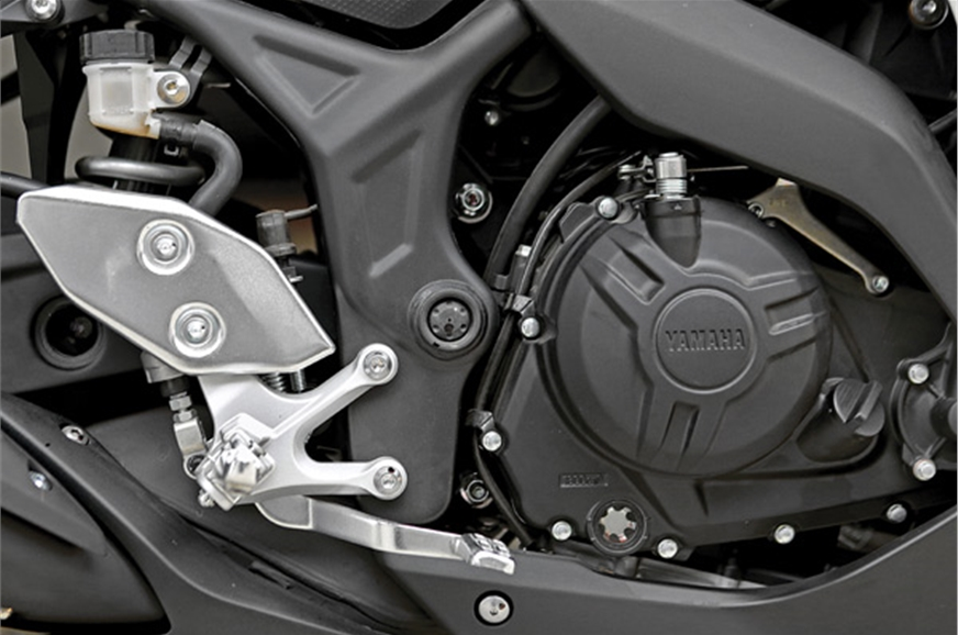The 321cc parallel twin engine has butter-smooth performa...