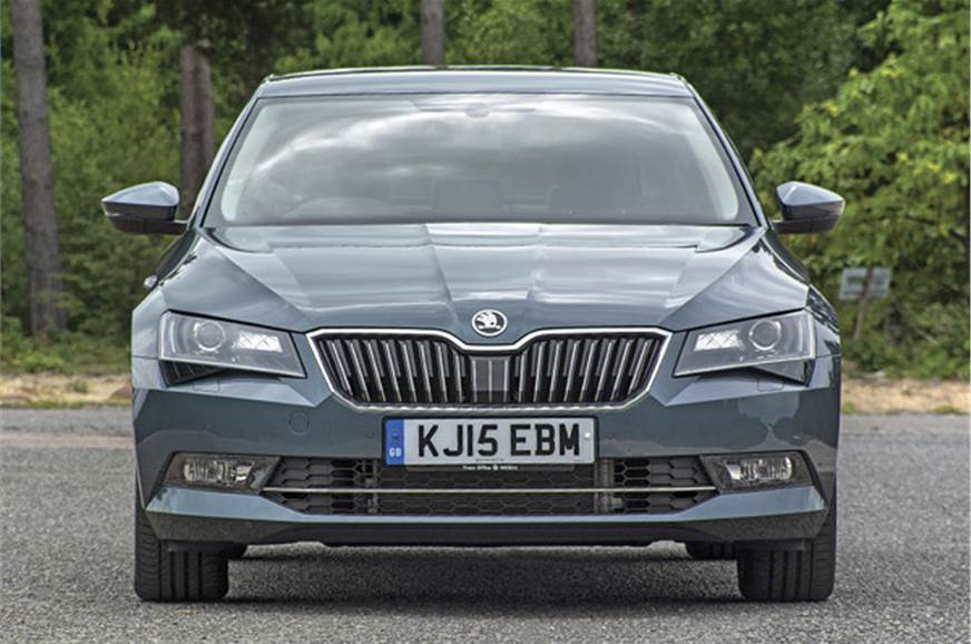 New Superb now has a much more sophisticated design, with...