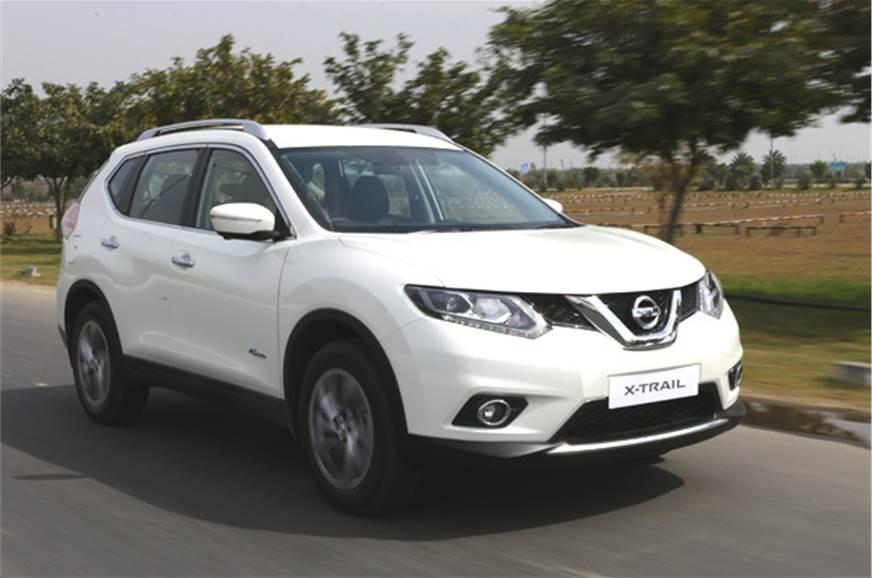 nissan x trail hybrid review test drive autocar india. Black Bedroom Furniture Sets. Home Design Ideas