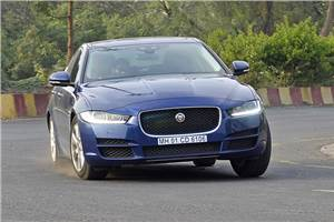 Jaguar XE 25t Portfolio India review, test drive