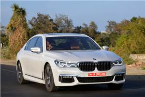 2016 BMW 750Li M Sport India review, test drive