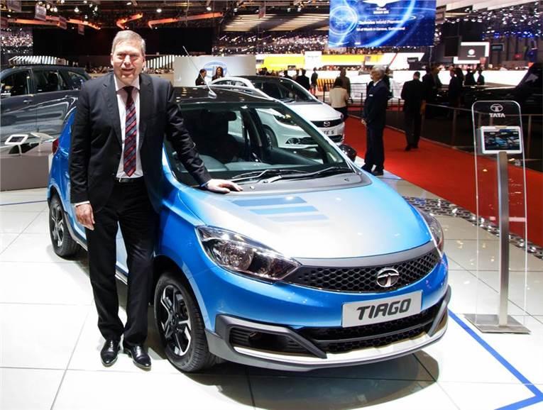 Tata tiago showcased at geneva motor show 2016 autocar india for H and r auto motors