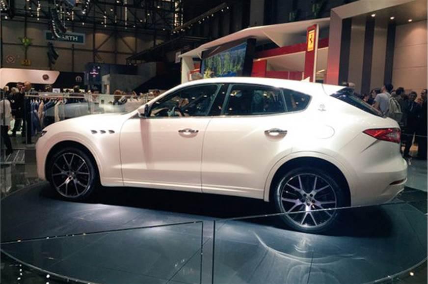 Maserati Levante SUV India Launch In Early 2017 Autocar