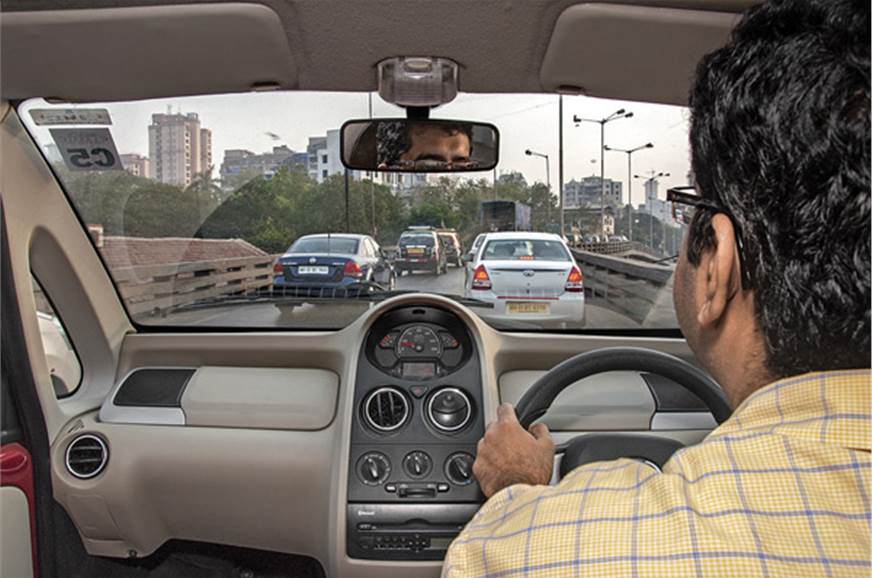 Power steering helps the Nano navigate dense Mumbai traff...